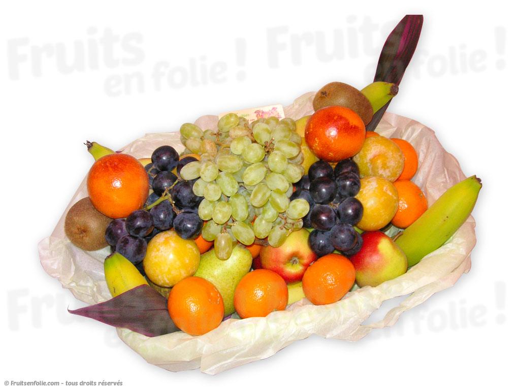 corbeille de fruits un brunch avec livraison en region parisienne. Black Bedroom Furniture Sets. Home Design Ideas